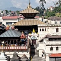 Pashupatinath area Katmahandu